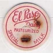 Buy CO El Paso County Milk Bottle Cap Name/Subject: El Paso Dairy Special Milk~71