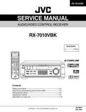 Buy JVC RX-7010VBK part Service Schematics by download #130495