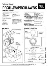 Buy INFINITY PROIII-AWBK TS Service Manual by download #151348