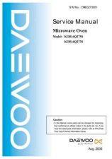 Buy Daewoo Model KOR-6NB53S,KOR-6NB55S Manual by download #168657