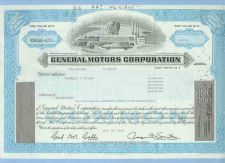 Buy DE na Stock Certificate Company: General Motors Corporation ~39