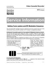 Buy PHILIPS VFM2002 Service Data by download #133197