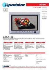 Buy ROADSTAR LCD-7169 by download #128292