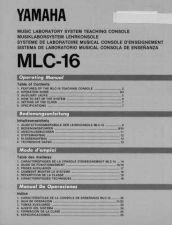 Buy Yamaha MLC16E Operating Guide by download Mauritron #203851