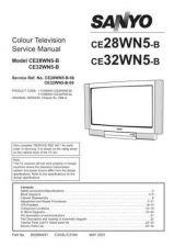 Buy Sanyo CE32WN5-B-00 SM Manual by download #173297