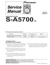 Buy PIONEER R2219 Service Data by download #149493