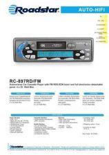 Buy ROADSTAR RC-897RD FM by download #128411