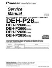 Buy PIONEER C3199 Service Data by download #149172