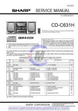 Buy Sharp CDCH1000-H-W-1500-RW5000H-MD3000H-BA3100 SM REVISED GB(1) Manual by downl
