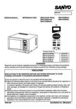 Buy Sanyo Service Manual For EM-S101 Manual by download #175841