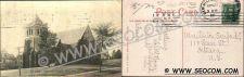 Buy CT New Milford Postcard All Saint's Memorial Church ct_box4, getfrom3, ~1722