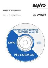 Buy Sanyo VA-30F(GB) Operating Guide by download #169553