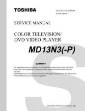 Buy TOSHIBA MD13N3P SUMMARY ON by download #129475
