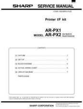Buy Sharp ARPX4-E(2) Service Manual by download #138854
