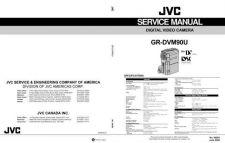 Buy JVC GR-DVM90U TECHNICAL DATA by download #130873