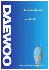 Buy Daewoo RL-211 (E) Service Manual by download #155099