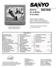 Buy Sanyo DS27820(SS780044) Supplement Manual by download #174059