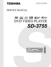 Buy TOSHIBA SD3980SC SU SVM Service Schematics by download #160379