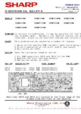 Buy Sharp VCMH742HM-003 Service Schematics by download #159273