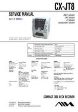 Buy AIWA CX-JT8 TECHNICAL INFO by download #125257