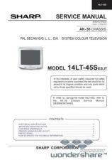 Buy Sharp 14LT45S SM GB Manual.pdf_page_1 by download #177758