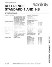 Buy INFINITY RS I TS Service Manual by download #151424