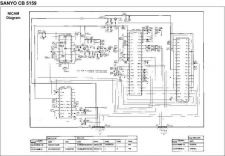 Buy SANYO CB5159 Service Manual by download #153512
