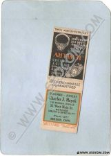 Buy CT Meriden Matchcover Charles J Hayek The Meriden Jeweler 32 West Main St ~1210