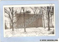 Buy CT East Windsor Hill Theological Seminary School Built 1834 Vacated 1865 c~667