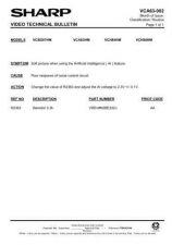 Buy Sharp VCH84HM-024 Service Schematics by download #158625