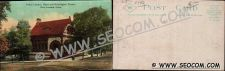 Buy CT New London Postcard Public Library State & Huntington Streets Stret Sce~2142