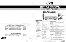 Buy JVC HM-DH3000 Service Schematics by download #155903