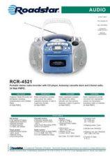 Buy ROADSTAR RCR-4521 by download #128461