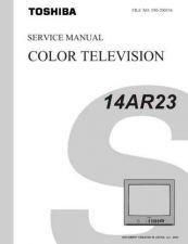 Buy TOSHIBA 14AR23 SVCMAN Service Manual by download #167300