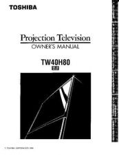 Buy Toshiba TW56X81 2 Manual by download #172496