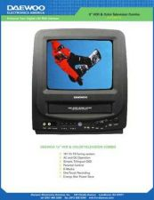 Buy Daewoo DVQ9H1FC TV VCR COMBO Manual by download Mauritron #184195