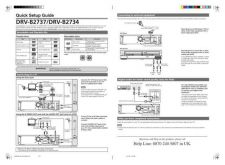 Buy Funai DRV-B2737 2734 E9701 05BD QSG 0329 Owners User Guide Operating by download