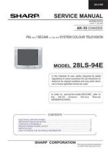 Buy Sharp 28LF92H SM GB Manual by download #169941