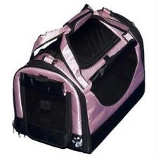 Buy Pet Gear World Traveler Pet Carrier with Wheels Large Crystal Pink
