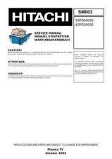 Buy Hitachi HITACHI-42PD3000E-32PD3000E Manual by download #170949