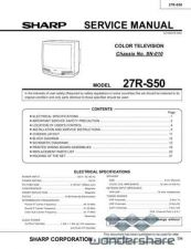 Buy Sharp 27RS50 SM GB(1) Manual.pdf_page_1 by download #178039