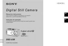 Buy SONY DSC-U30 OPERATING GUIDE by download #166776