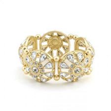 Buy Crystal Filigree Stretch Bangle Bracelet