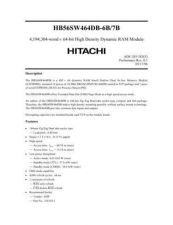 Buy HITACHI 56SW464D Manual by download Mauritron #185741