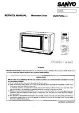 Buy Sanyo Service Manual For CG-1756 Manual by download #175566