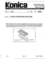 Buy Konica 10 JITTER 127MM FROM LEAD E Service Schematics by download #135938