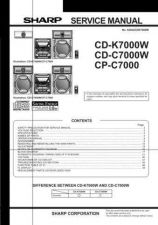 Buy Sharp 29JF76E SM GB(1) Manual by download #169994