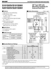 Buy Semiconductor Data S101S05V by download Mauritron #195424