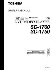 Buy Toshiba SD26VESE VBSB Manual by download #172330