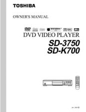 Buy Toshiba SD-K750 OM E Manual by download #172375